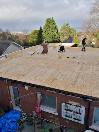Flat Roofing Options Cost Repairs Replacement Free Estimate